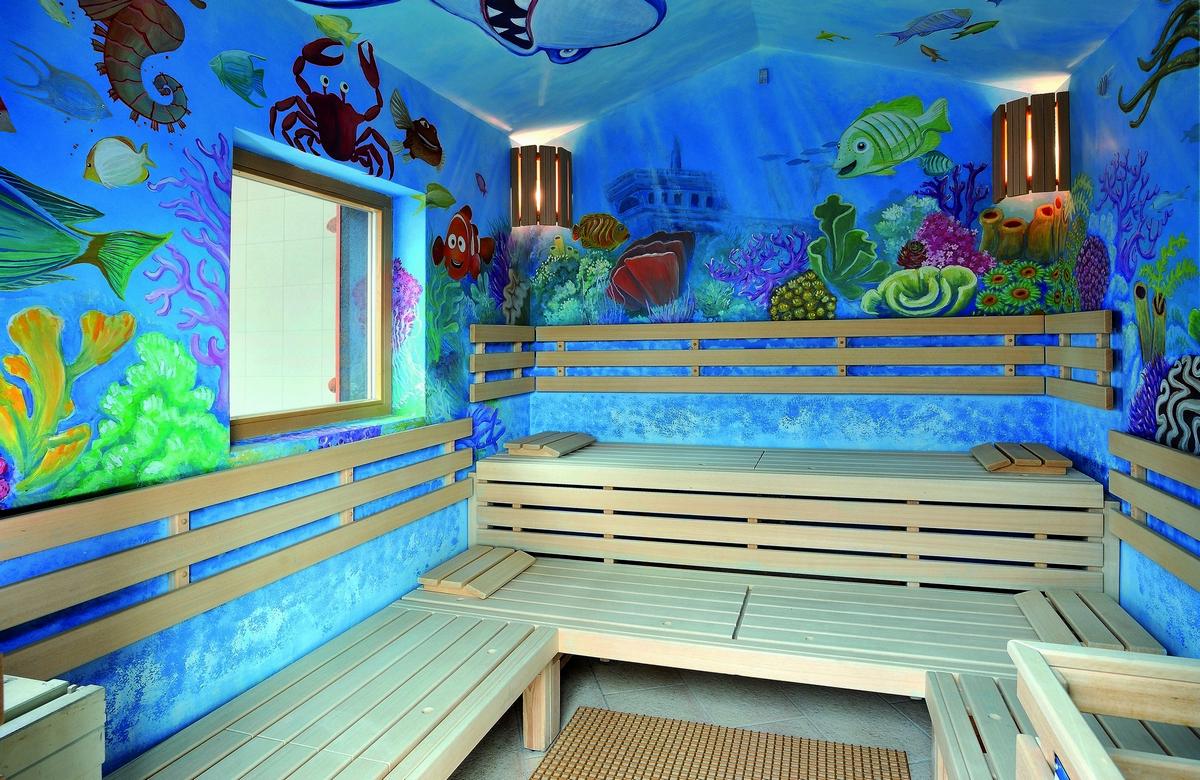 Finská sauna detská