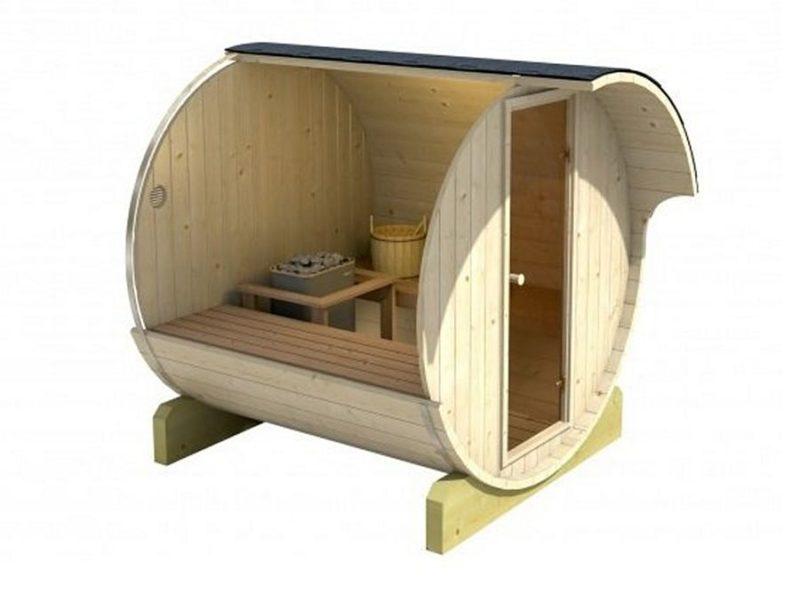 Venkovní typová sauna