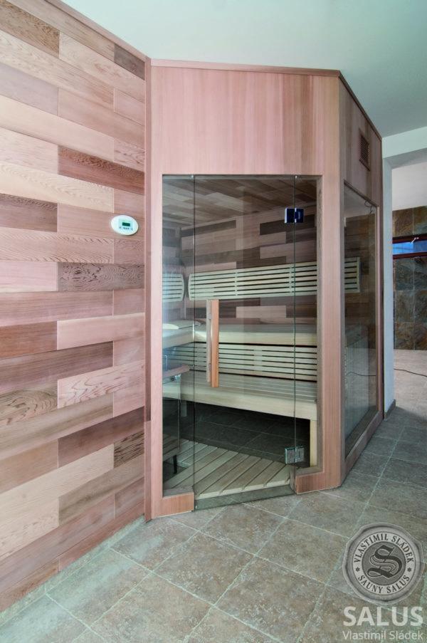 Finská atypická sauna