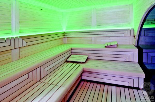 Sauna Italská interiér